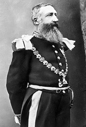 Leopold II, King of Belgium and the Congo Free State from 1865 to 1909