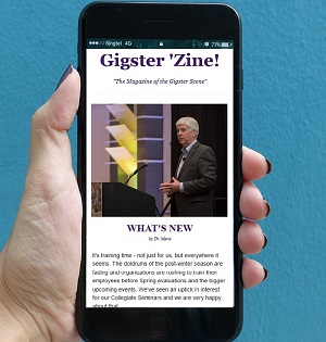 GIGSTER 'ZINE! Sign up for our free monthly newsletter filled with strategies for success in your side-gigs including stories from fellow gigsters, access to exclusive content, and company updates