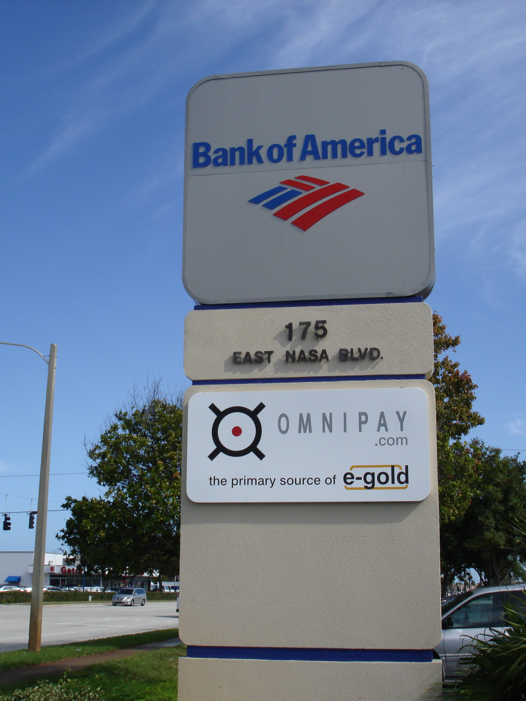 A picture of the sign for the G&SR (e-gold Operator) office, 1998-2014