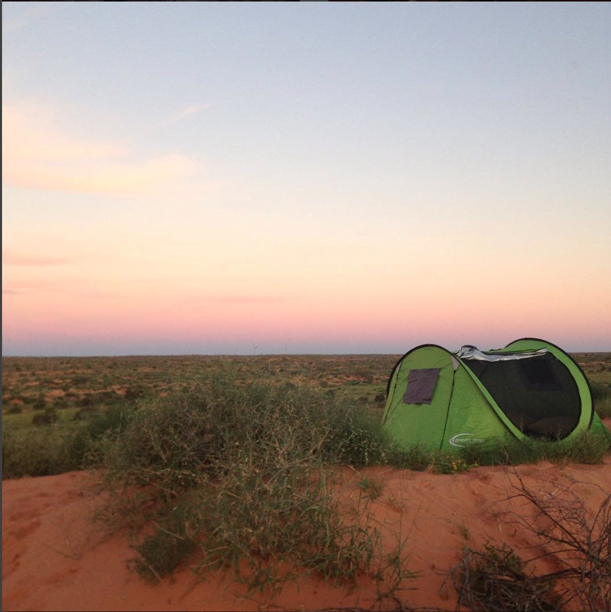 The Simpson Desert was Such an abundance of space, colours + soothing noise!