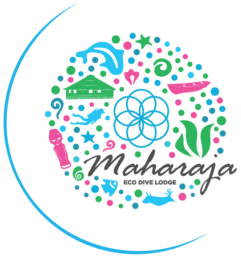 MahaRaja Eco Dive Lodge - Logo in colour - JPEG