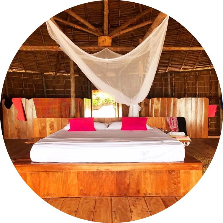 Raja Ampat - Accomodation at the MahaRaja Eco Dive Lodge