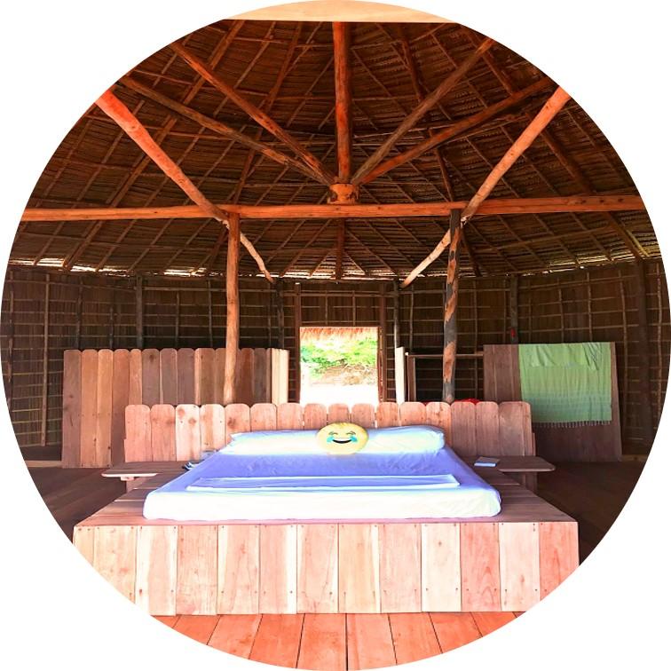 Room with a view - Accommodating at MahaRaja Eco Dive Lodge, Raja Ampat