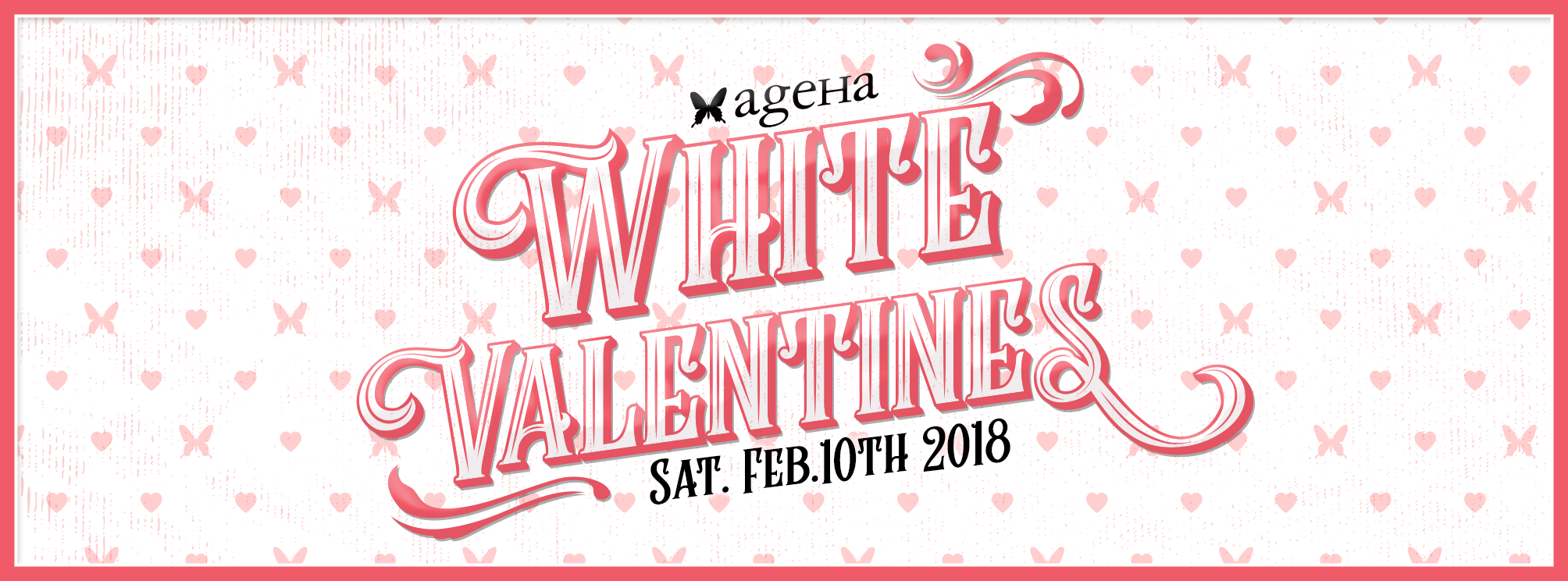 ageha White Valentines party