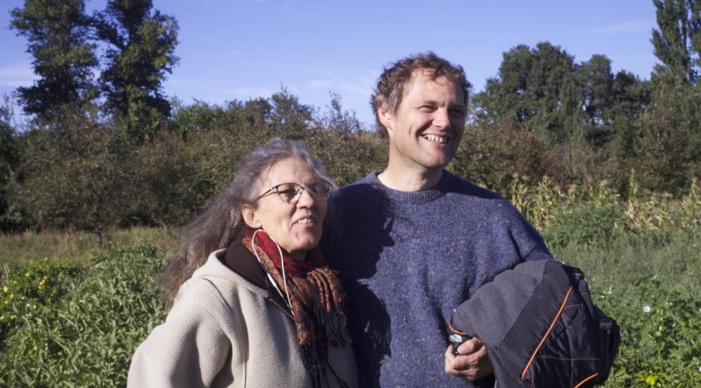 Valérie Peyret et Eric Marchand