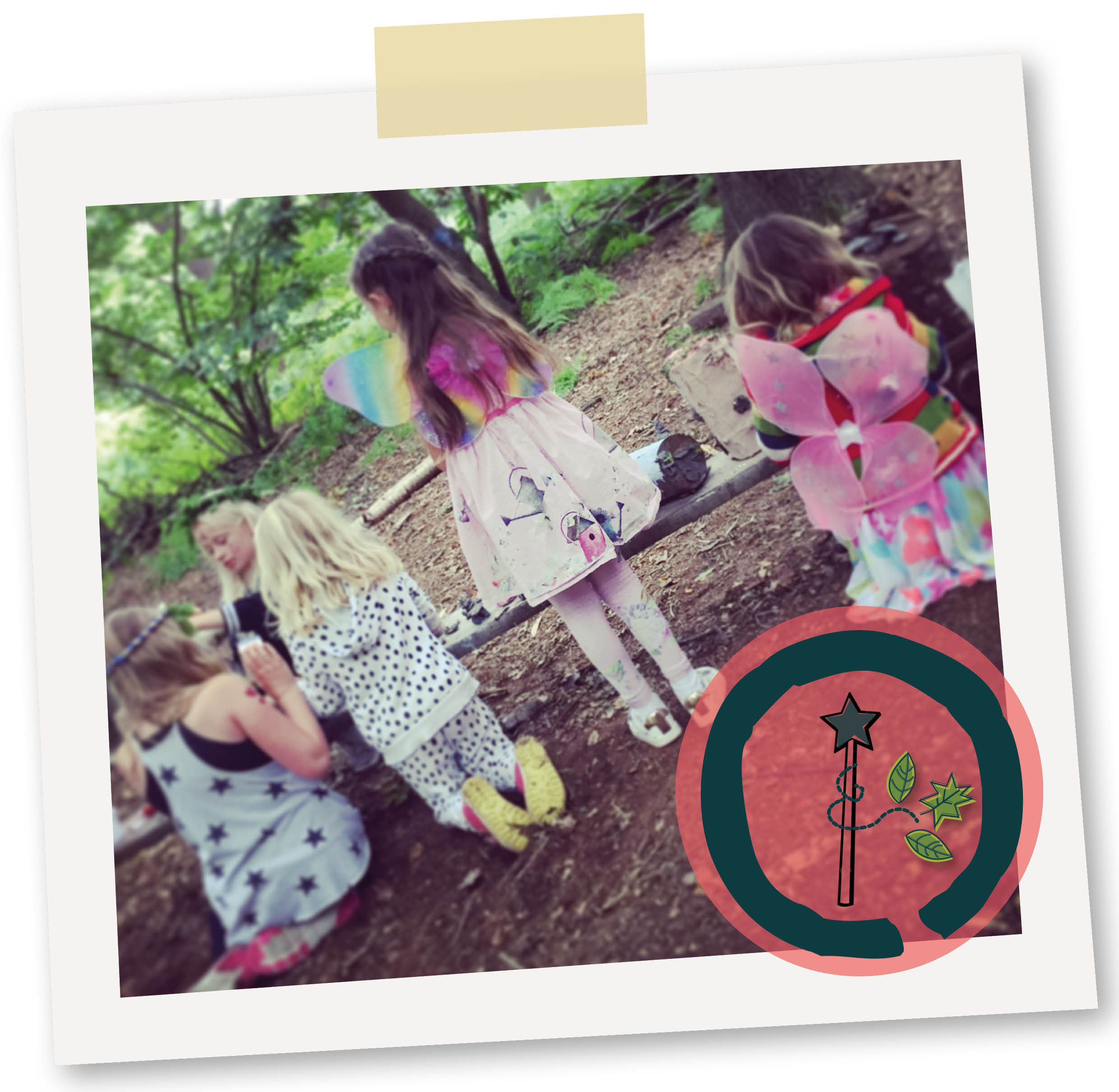 Woodland Magic - GET CREATIVE OUTDOORS WITH MAGICAL wands, crowns, fairy houses & MINI HERB GARDENS. Plus cook up some fairy potions…Mystical fun for kids!2 hour partyPackages tailored for all ages£185 for up to 15 children