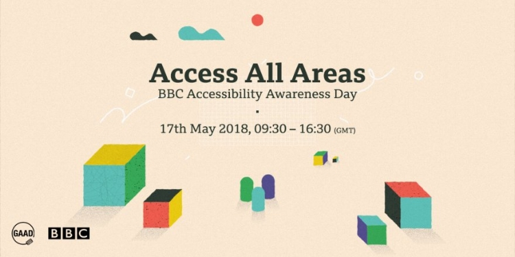 """BBC Accessibility Awareness Day """"Access All Areas"""" event banner"""