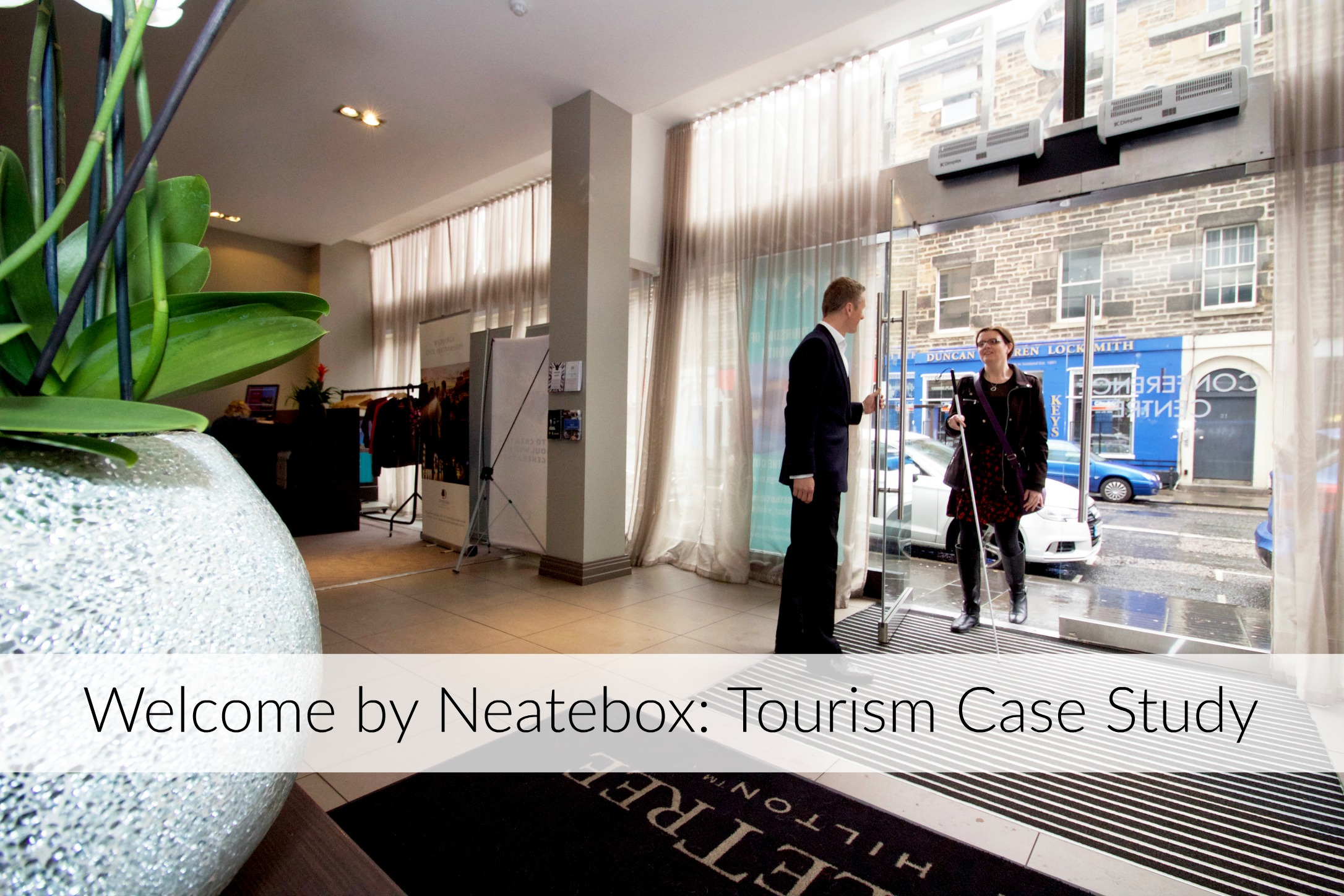 Learn why DoubleTree by Hilton Edinburgh City Centre has installed Welcome and how it worked for them.
