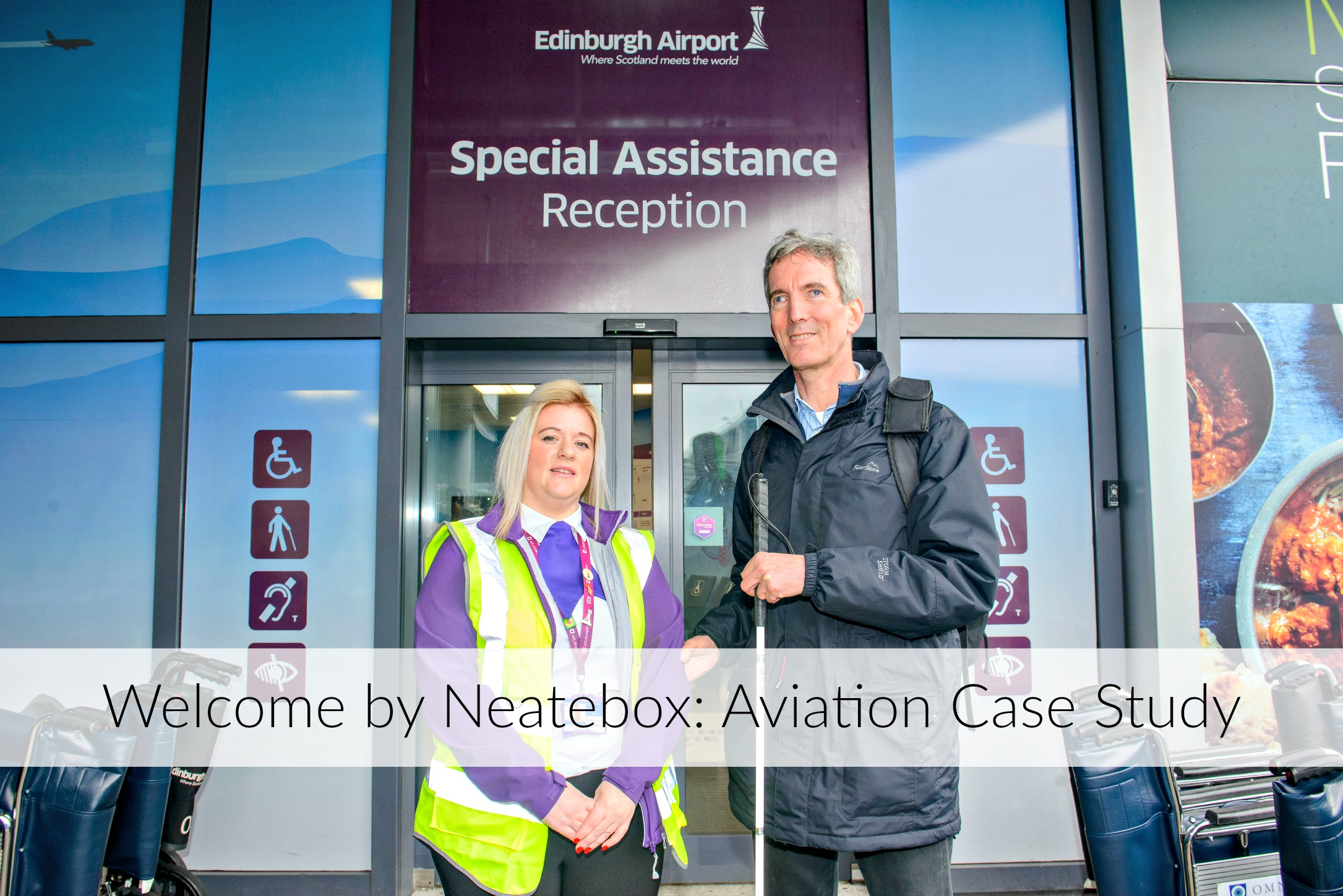 Learn why Edinburgh Airport has installed Welcome and how it worked for them.