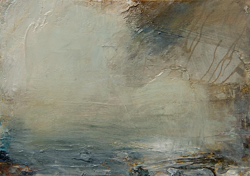 Lullaby oil on paper 15cm x 20cm