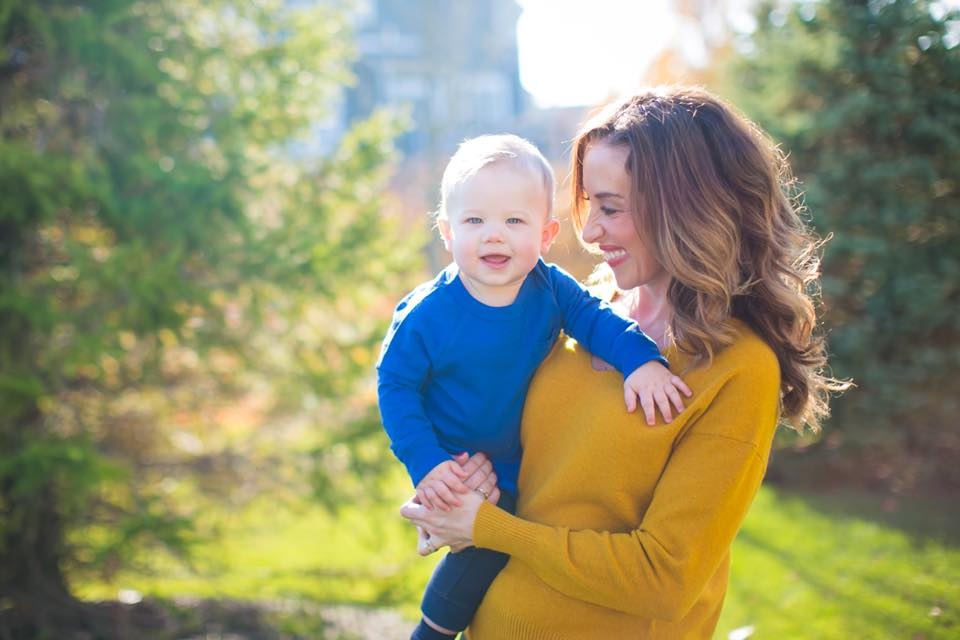 Rocking a gorgeous French Connection Sweater from Le Tote for our fall family photos!