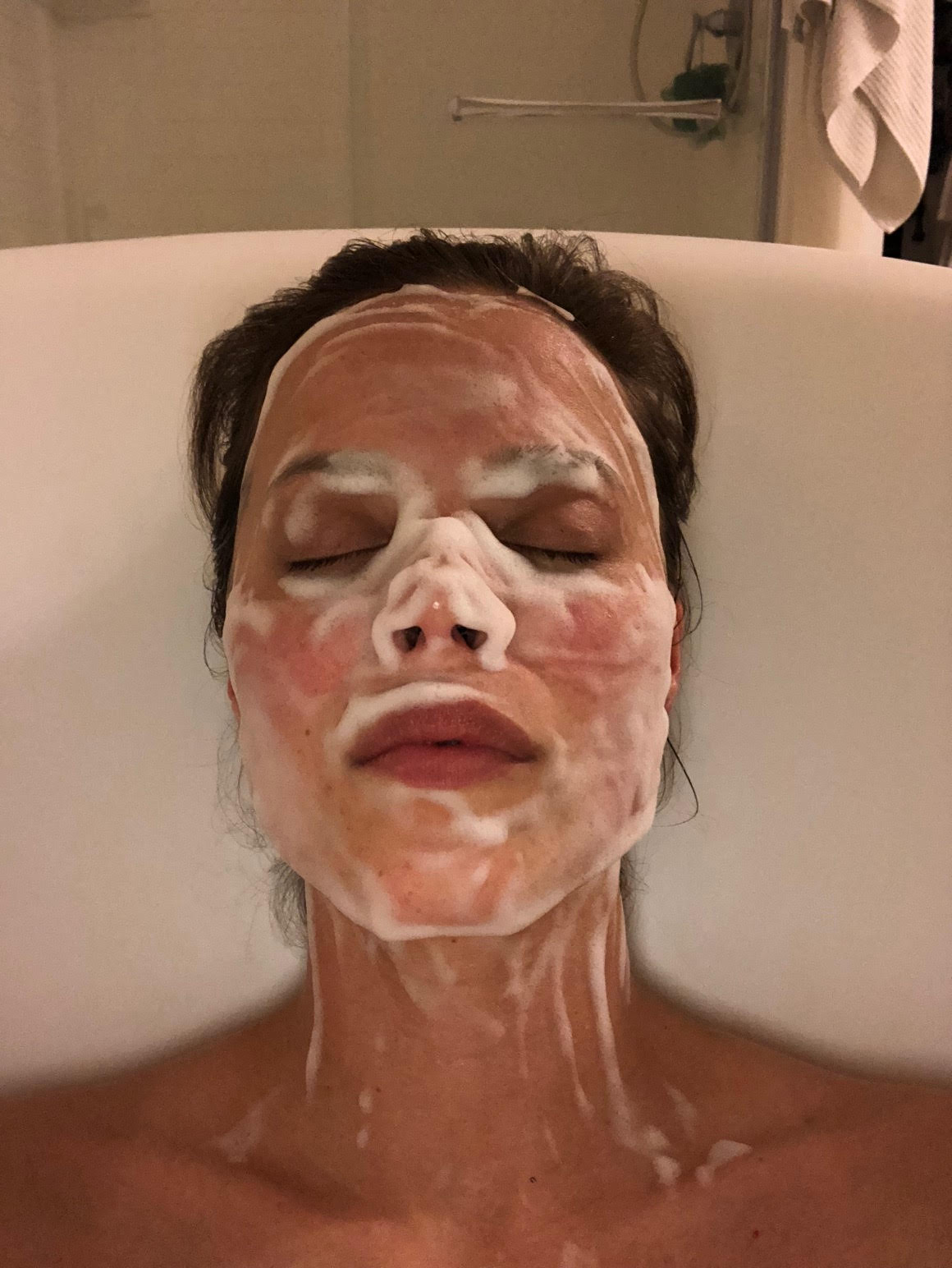 #SkinBabe Katie Stam Irk commits to self-care at least 1x a week!