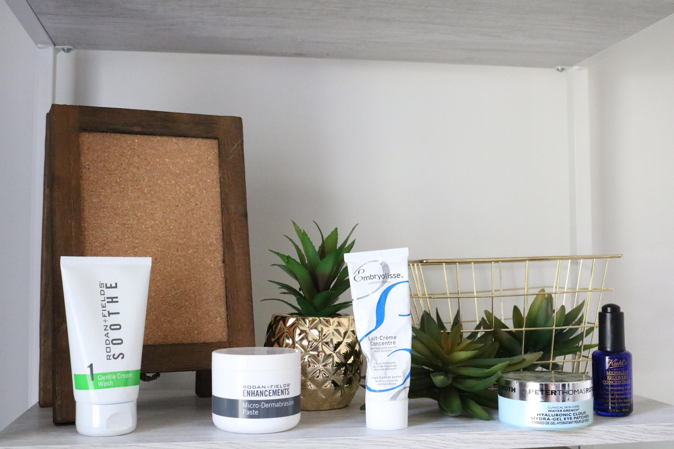 #SkinBabe Ashley Wottring shares a photo of some of her favorite skincare products!