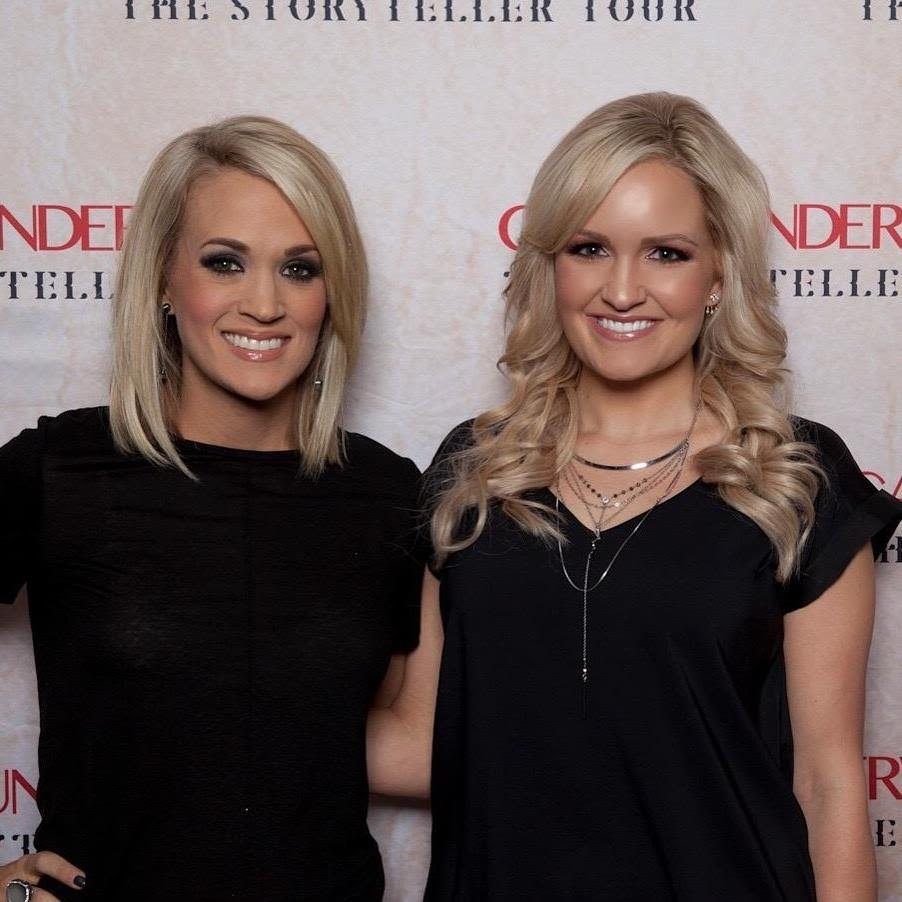 #SkinBabe Allison Jenks favorite #SkinBabe is Carrie Underwood. And, yes, they look alike & they've met!