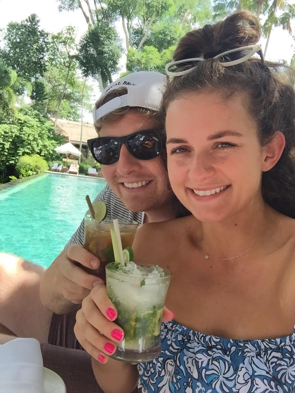 #SkinBabe Jill Irvin Burriss married fellow DePauw alum Brandon last summer!