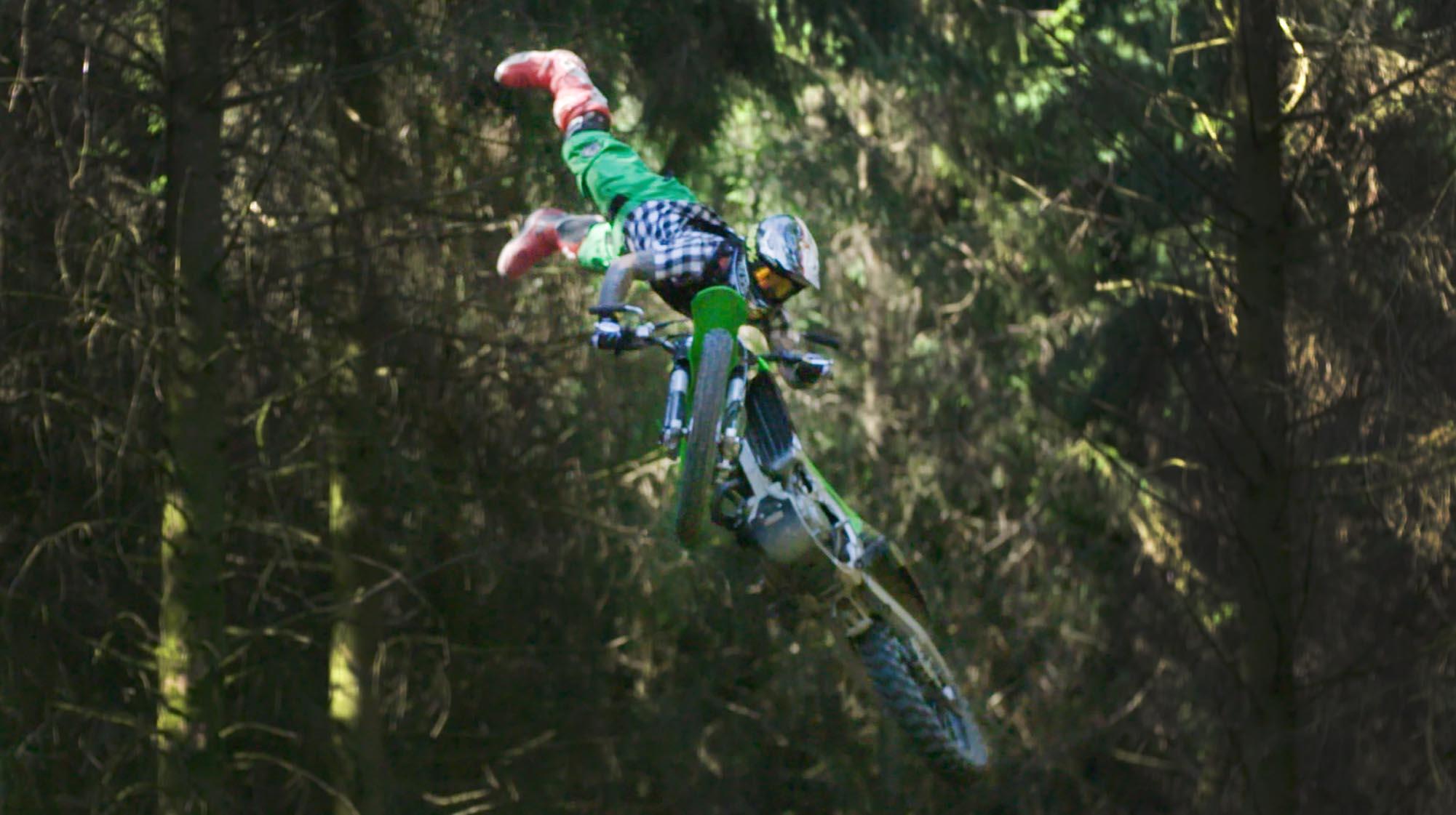 FMX Rider Wayne Jacobs