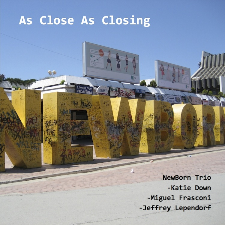 As Close As Closing   NewBorn Trio (Katie Down, Miguel Frasconi, Jeffrey Lependorf), music for bamboo flutes,glass objects and etc. 2013