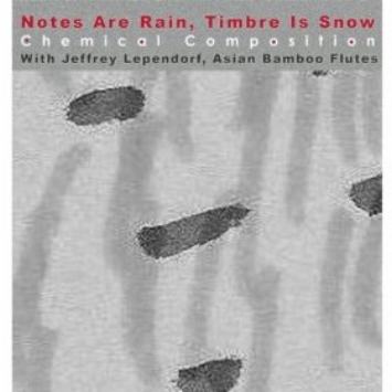 Notes are Rain, Timbre is Snow   Jeffrey Lependorf with Chemical Composition (Tom Desisto,John Cacciatore, Constance Cooper). 2012