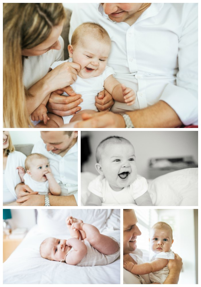 baby at home lifestyle session