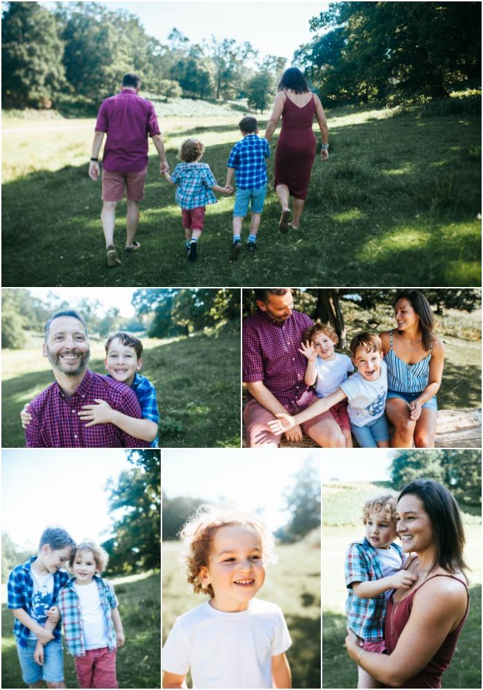 family photo shoot Sevenoaks Kent