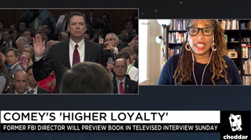 "Comey's ""Higher Loyalty"""