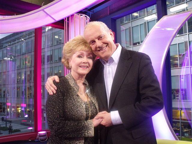 Debbie Reynolds with Gyles