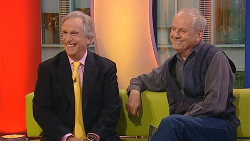 With Henry 'The Fonz' Winkler on The One Show