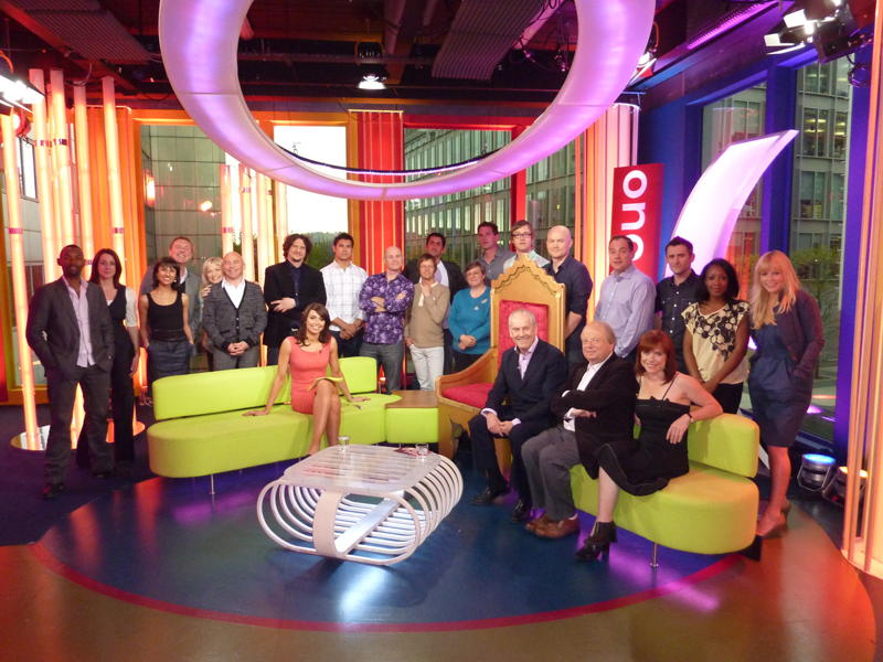 Gyles and The One Show Team