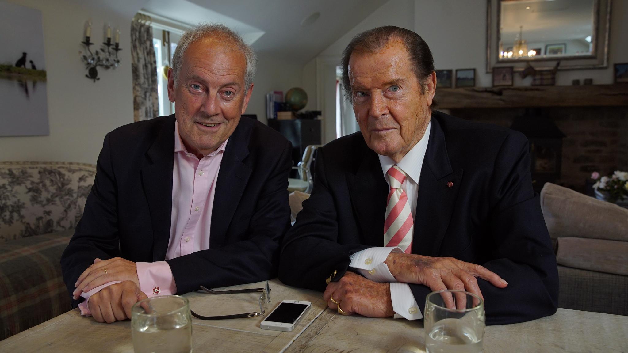 Gyles & Sir Roger Moore