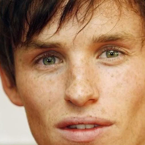 Eddie Redmayne - Talent + Freckles