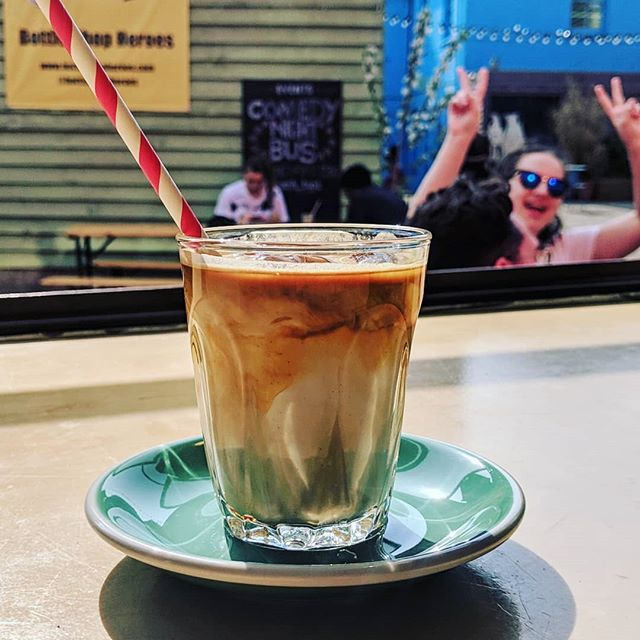 Okay we're calling it, summer's officially started, which can only mean one thing...#icecoffee - try our usual @ozonecoffeeuk Empire Blend over ice for a delicious cold caffeine kick, while you enjoy Wood Green's biggest beer garden @bluehouseyard ☕❄️ Ten taps of delicious craft beer and cider  from @earth_tap1 as usual too 🍺🍎⛅ #cakesandladders #cakesandladderscafe #cakesandladdersldn #cakesandladderslondon #boardgamegeek #boardgame #boardgamegeeks #boardgames #boardgamesofinstagram #secretlondon #london🇬🇧 #london #londonist #londoner #london_enthusiast #londonlife #woodgreen #hornsey #turnpikelane #palmersgreen #northlondon #greenlanes #cafe #boardgamecafe #allypally #crouchend #muswellhill #finsburypark