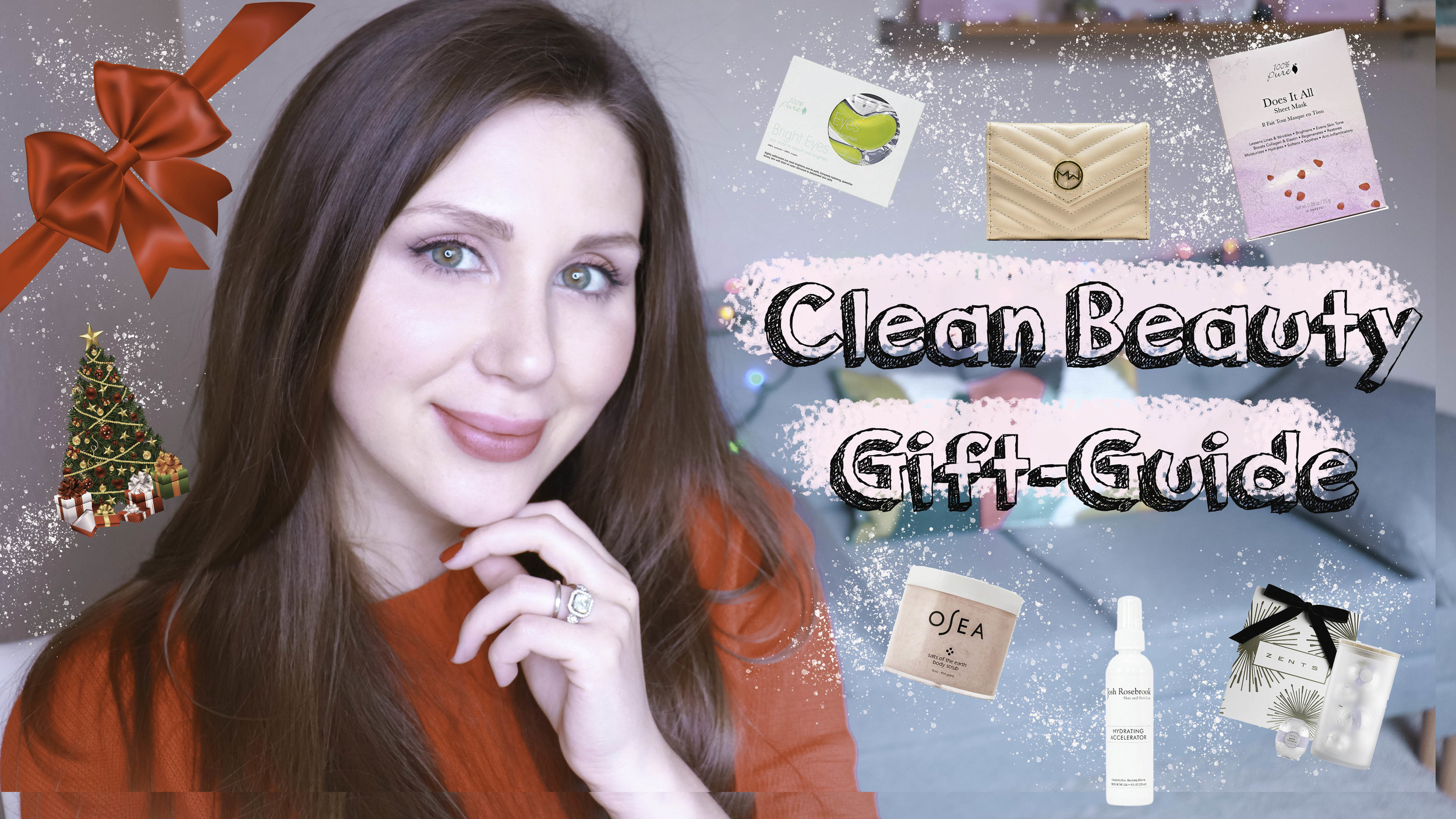 2018 Clean Beauty Gift Guide ( Green, Vegan, Cruelty-Free)