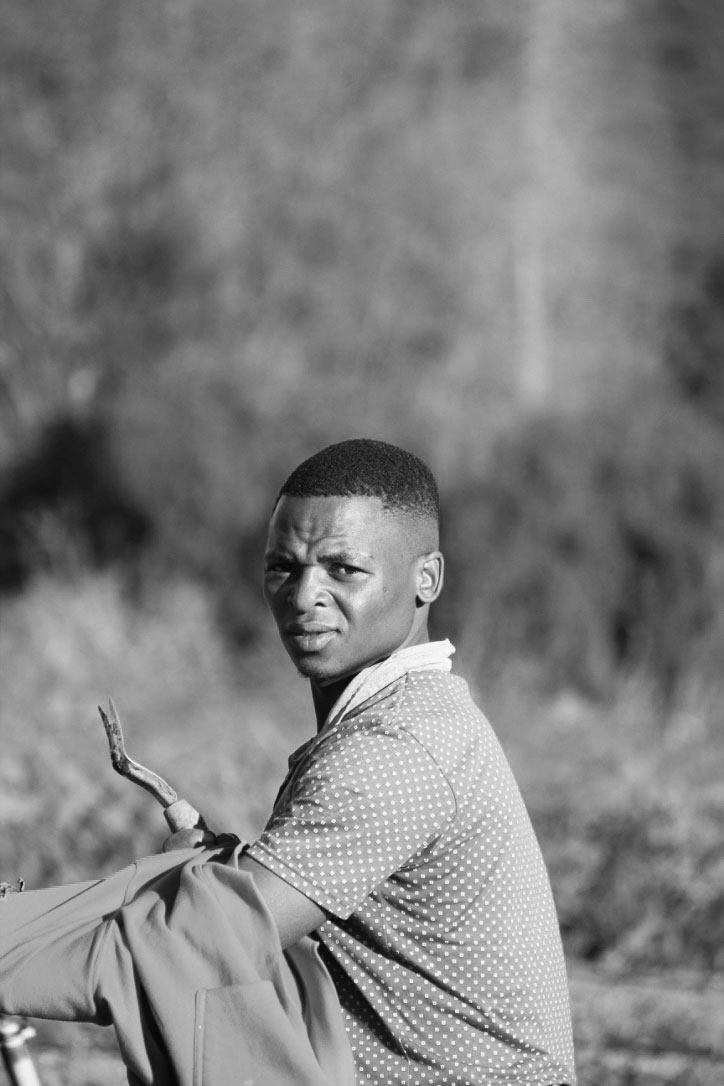 LUVUYO  is Smido's brother and so his talents are no surprise to us. He learned Afrikaans in a matter of weeks, is extremely hard working, always up to learn something new, and quick to joke.