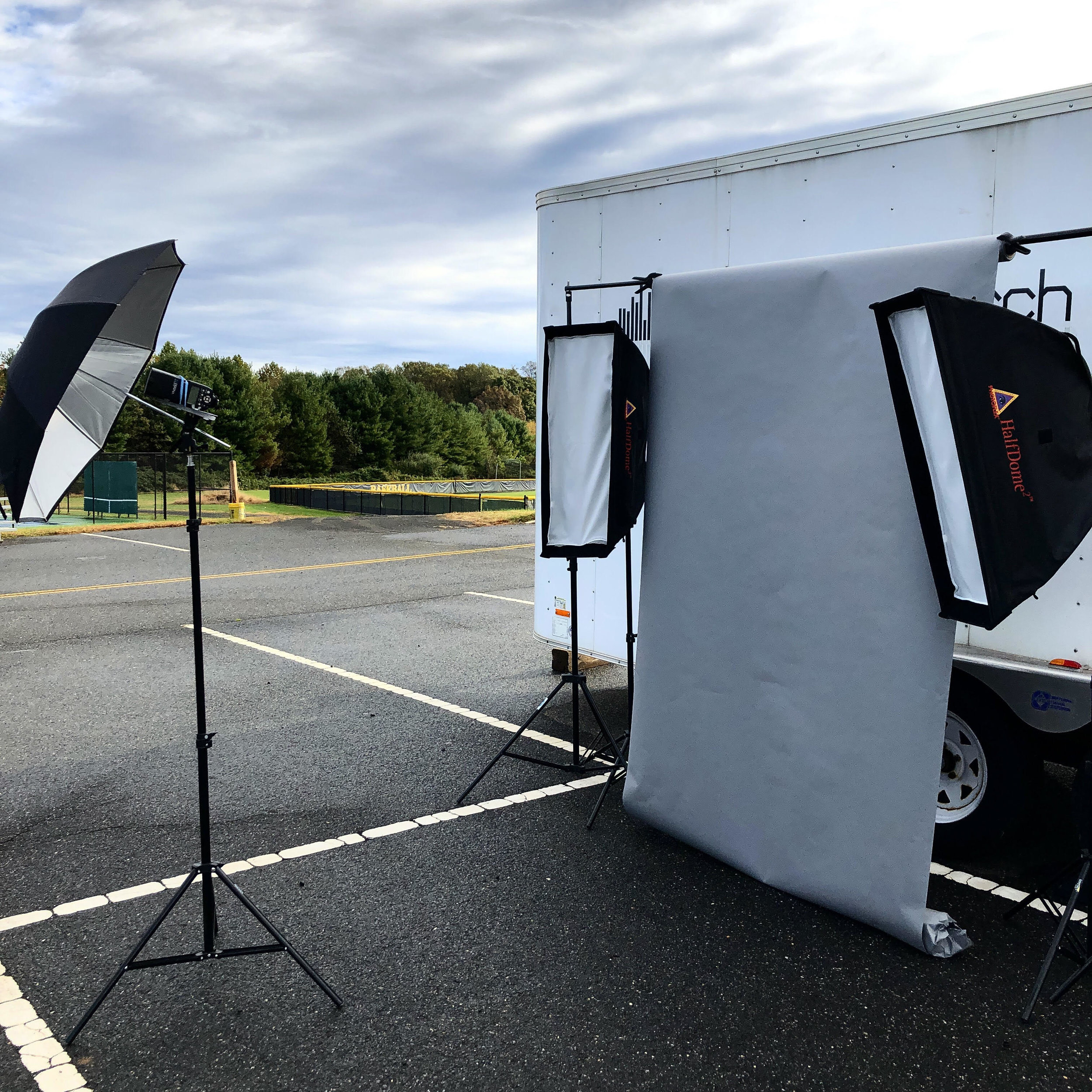 Mobile Studio - Being able to set up studio at any location