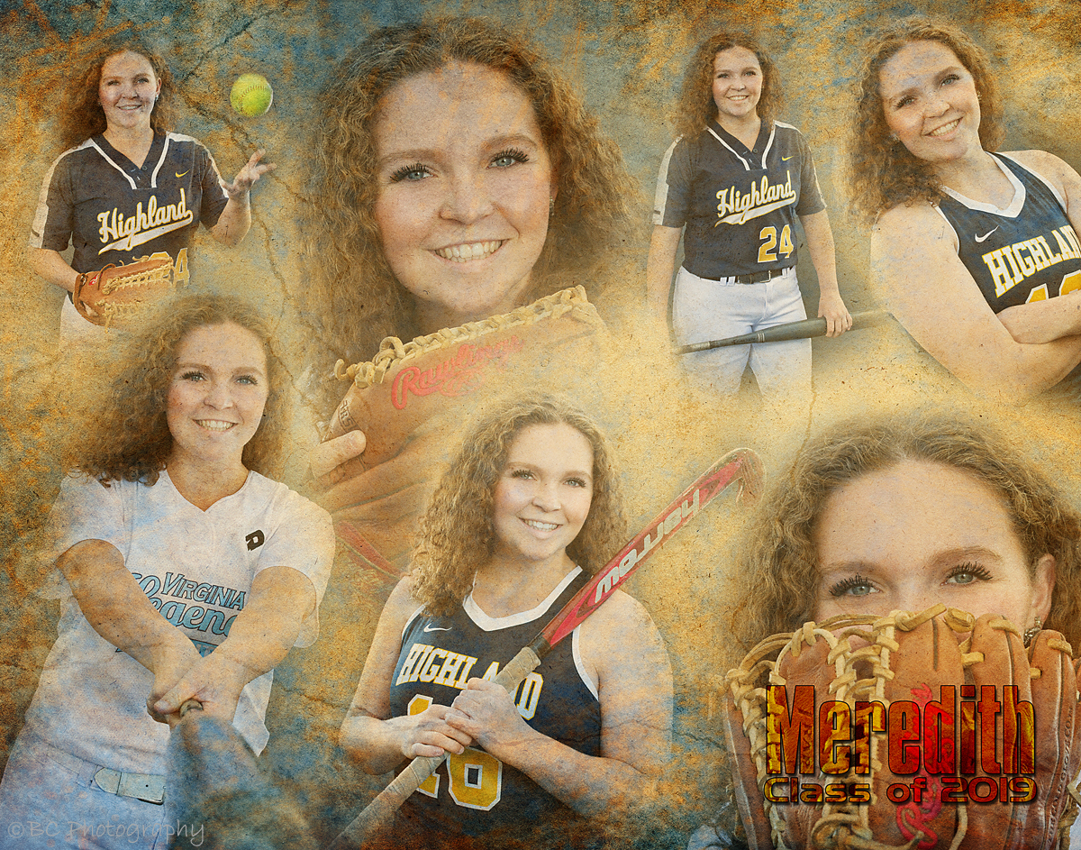 Final Collage from Meredith's Portrait Session