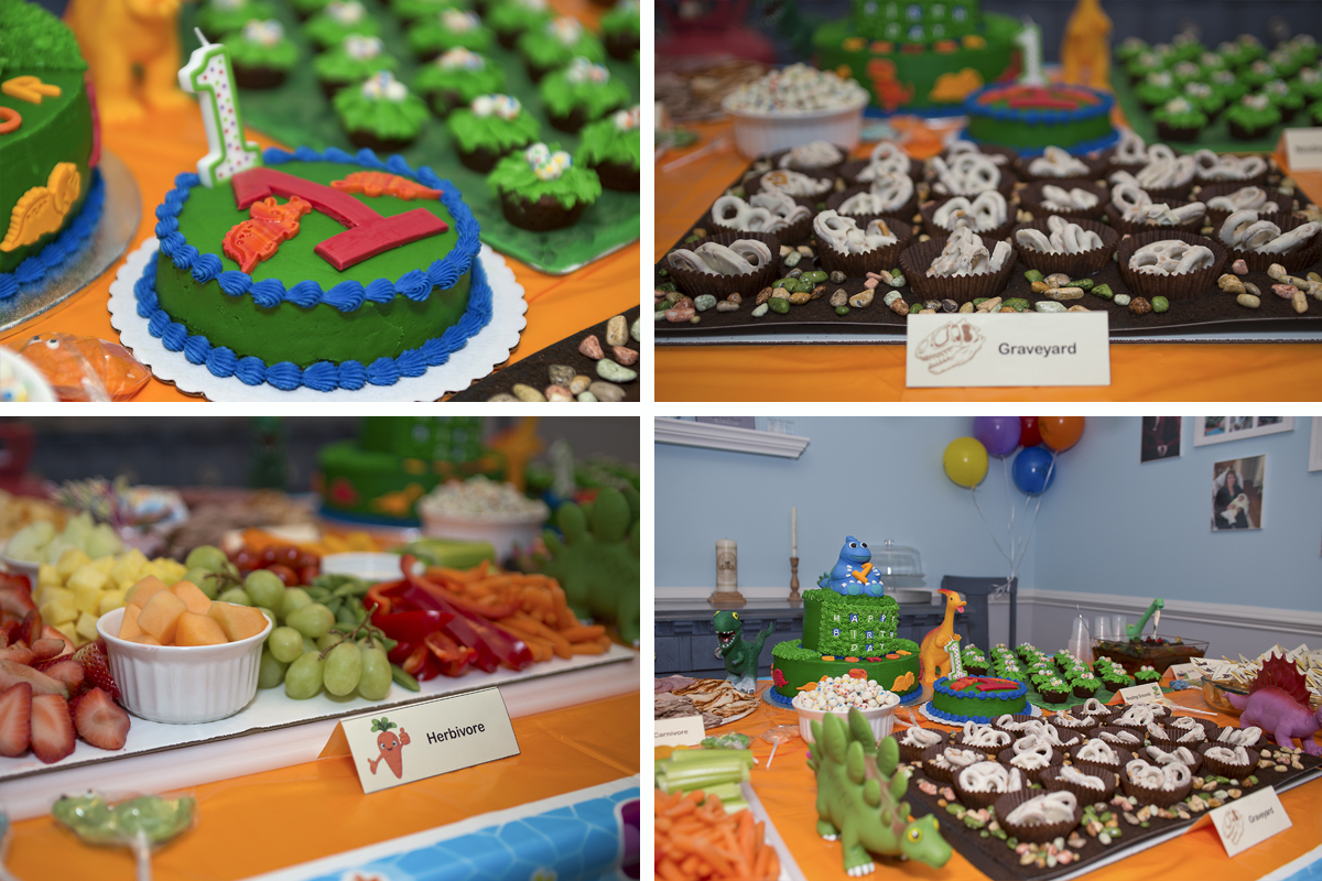 Detailed photographs of your party food and decorations.