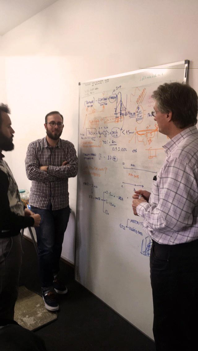 Algorithim brainstorm session