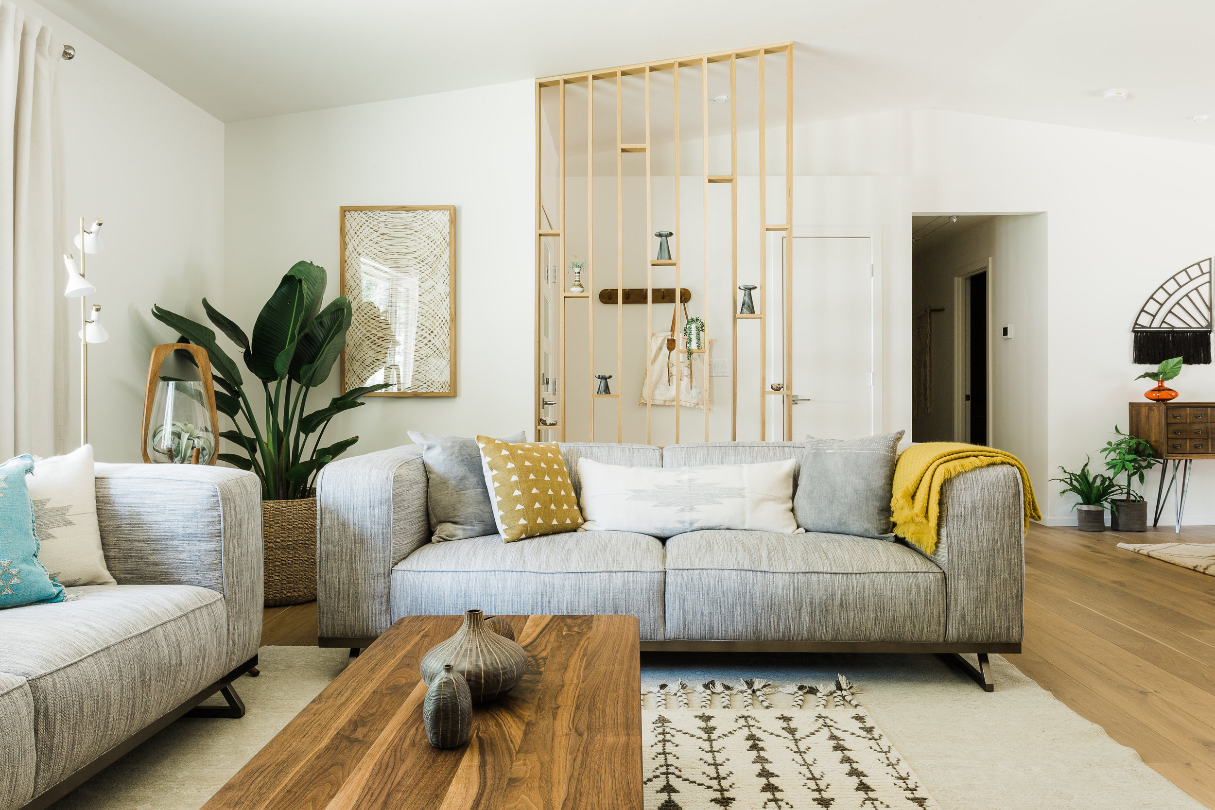 MID CENTURY MEETS BOHO - Complete Home Interior Redesign…