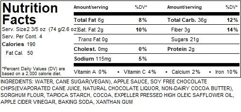 Double Choco Muffins Nutrition Label.JPG