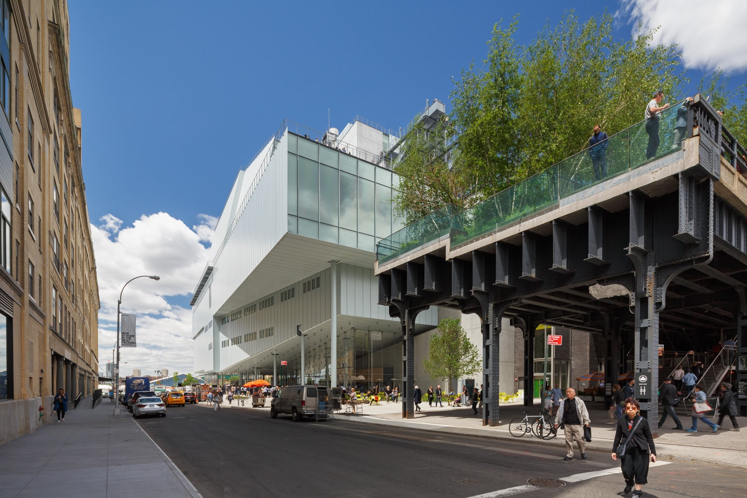 Whitney Museum at the end of the Highline