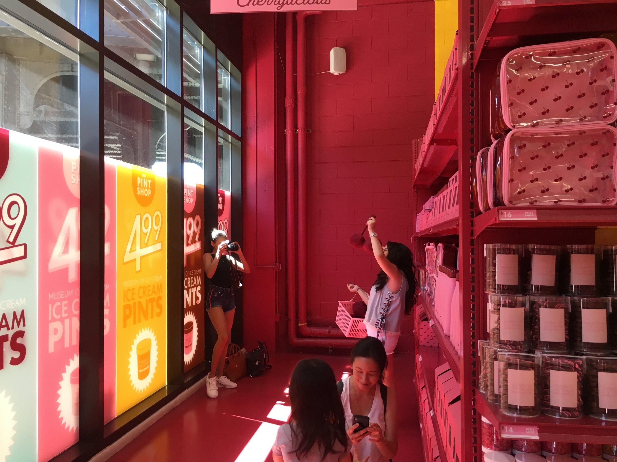 Museum of Ice Cream Activation