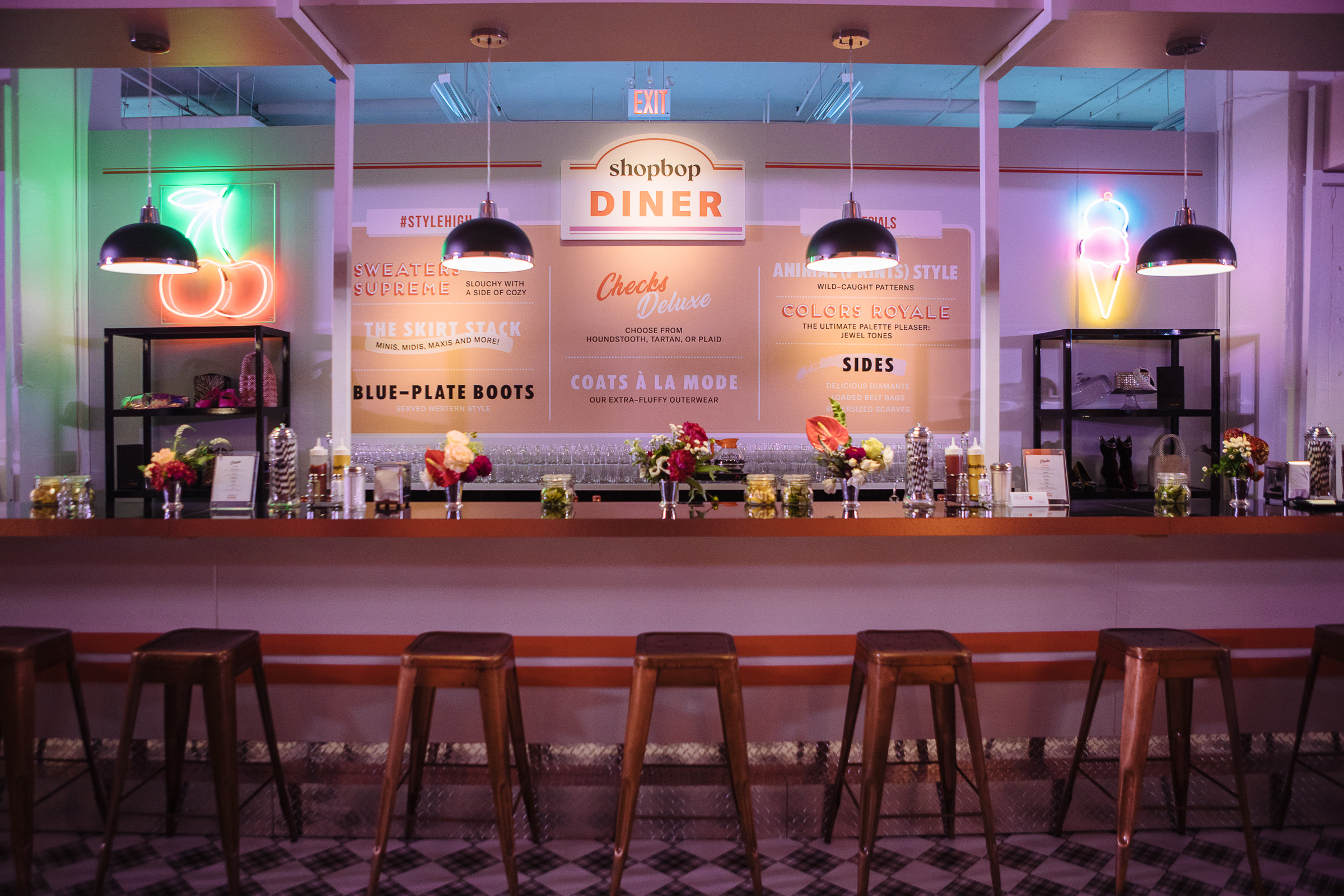 Shopbop Diner Activation