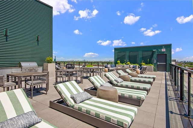 Labor Day weekend is calling. It wants you to hang out on this rooftop at #TheFieldsLofts.