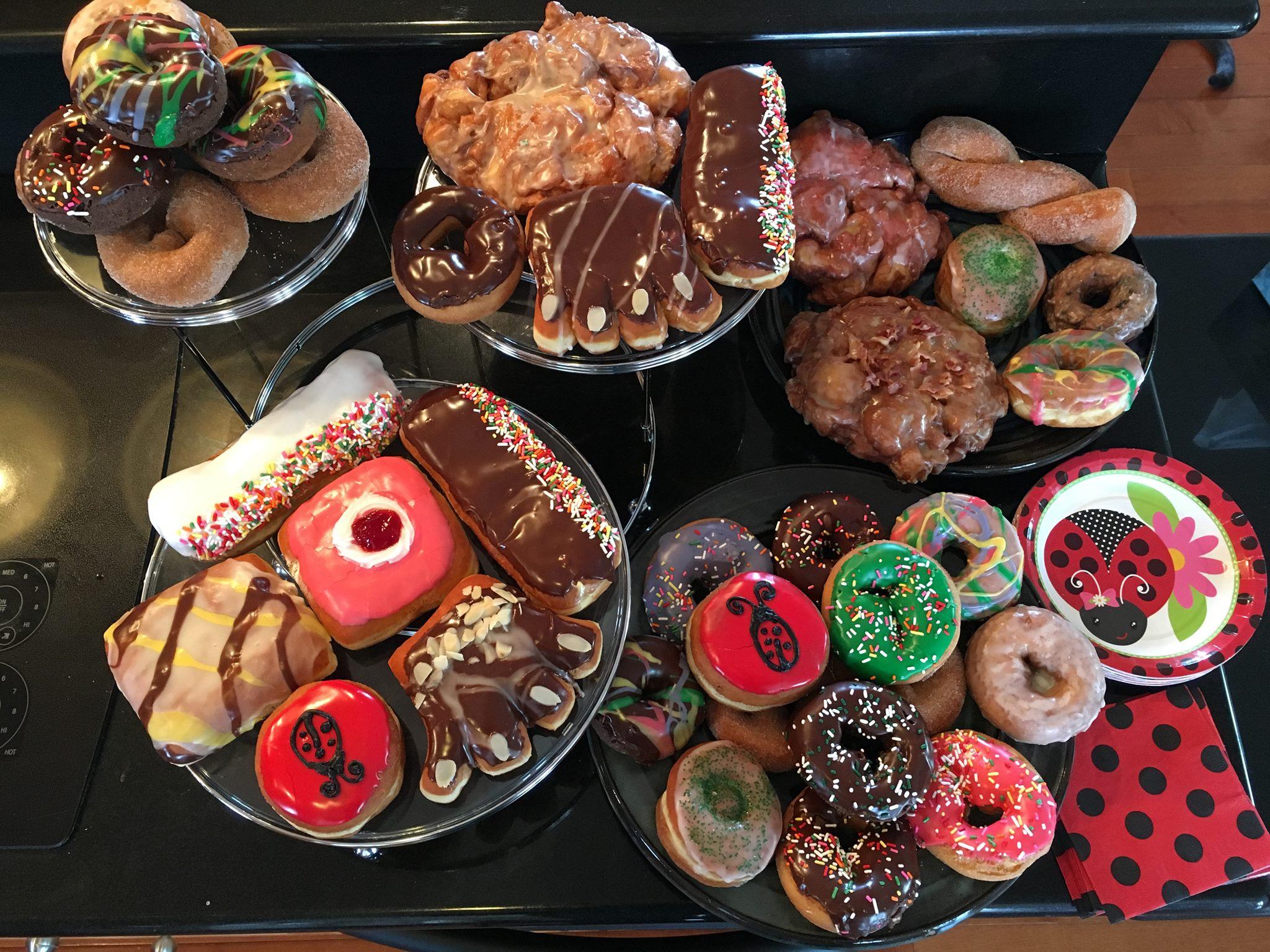 Custom Birthday Donuts - Lady Bugs.jpg
