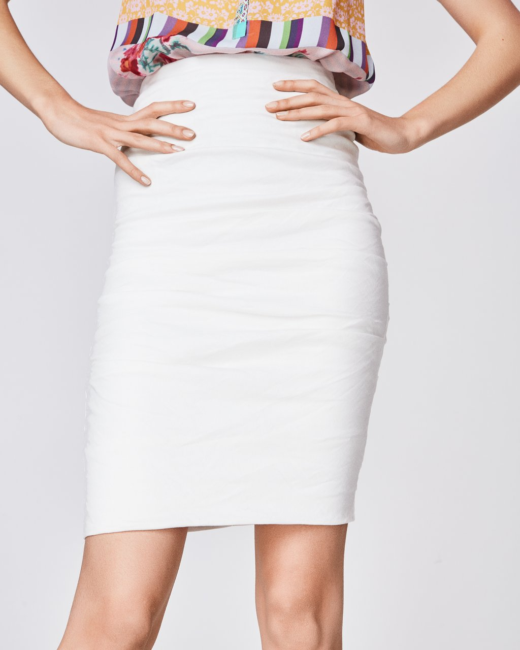 Sandy Skirt - This skirt is a MUST for your wardrobe. It is flattering on absolutely everyone. Wear it to a cocktail party or pair it with a tee for a casual day look.