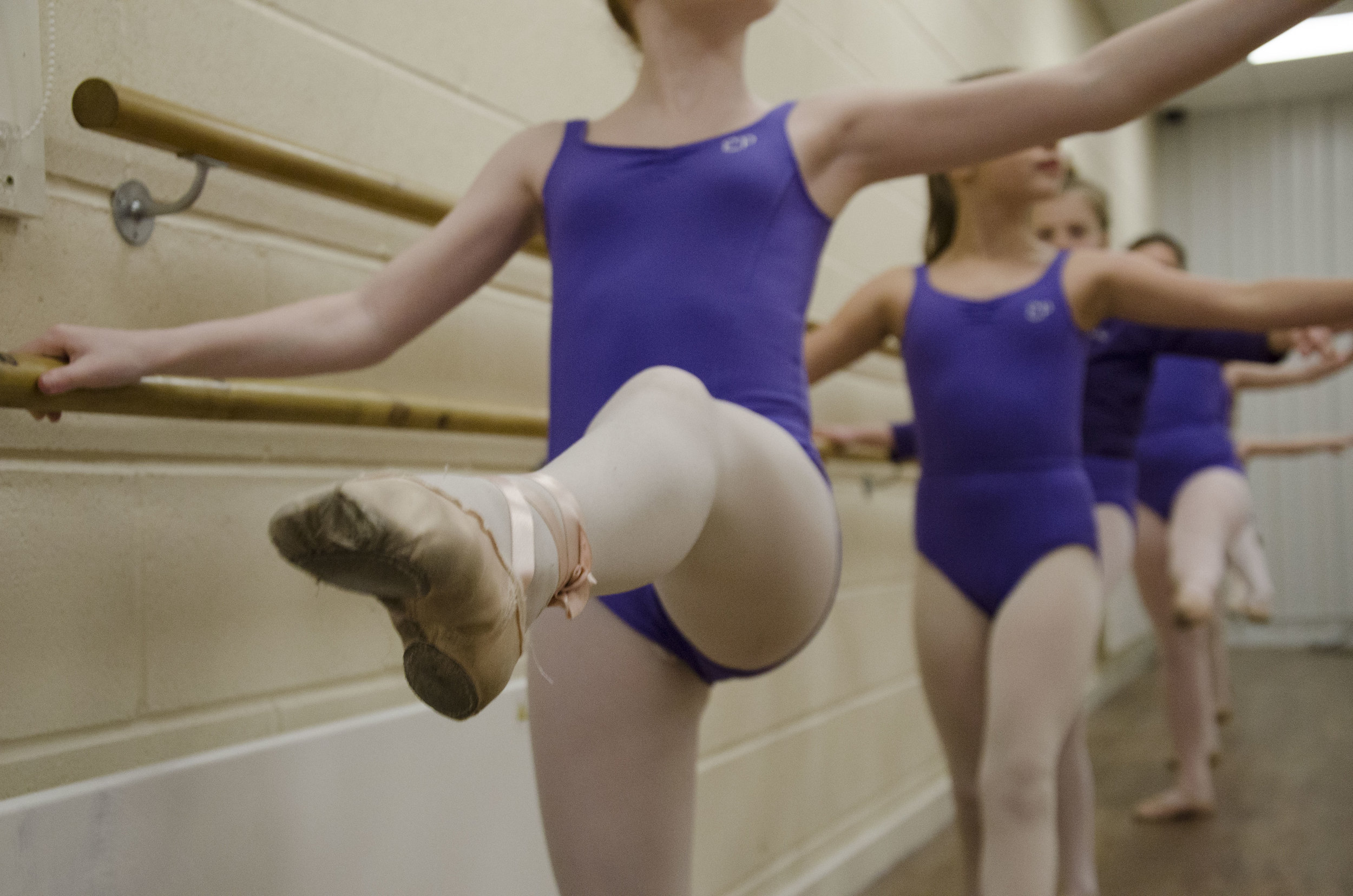 Grade 3 of the Royal Academy of Dance Ballet in York