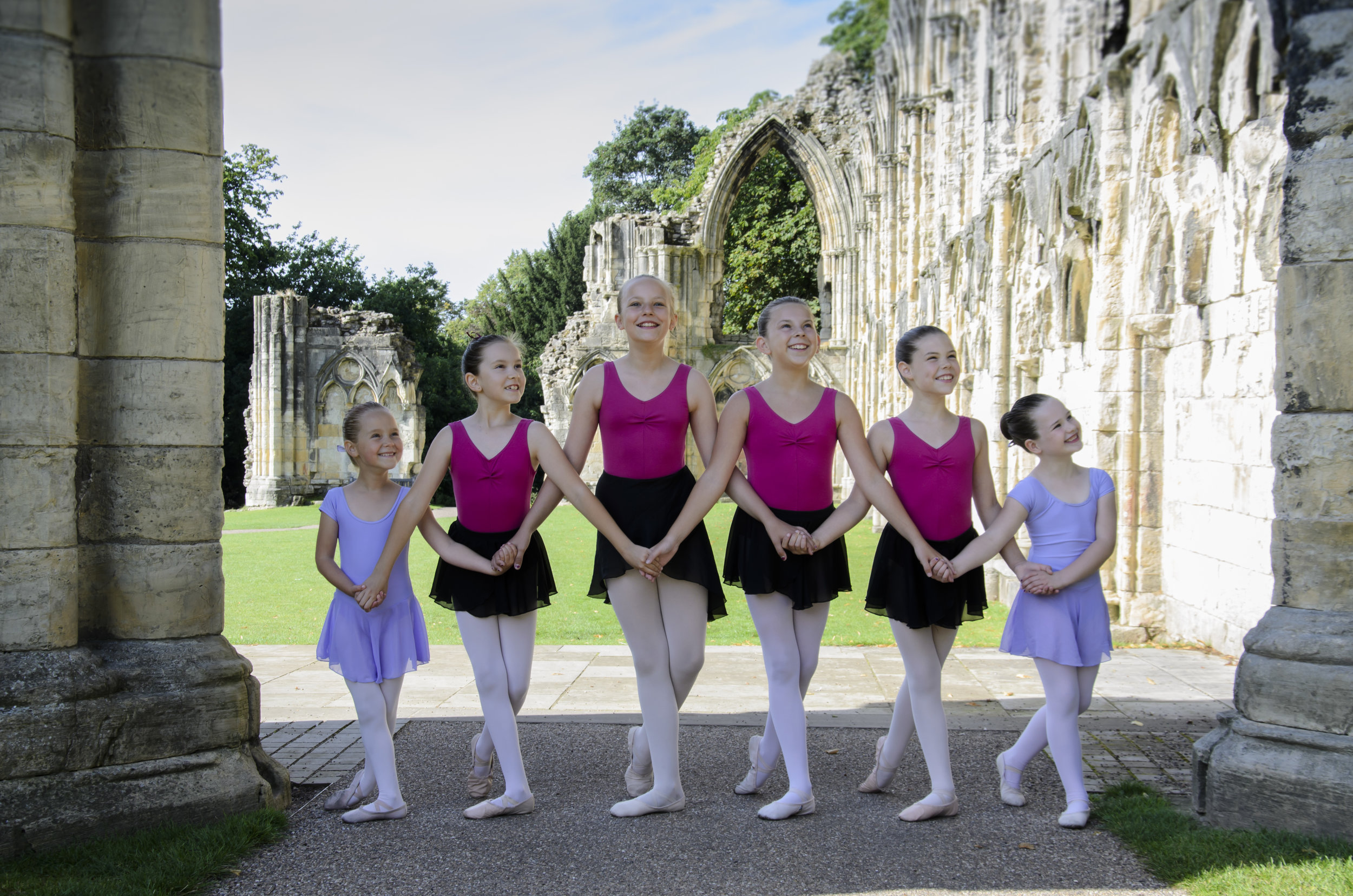 York Minster, ballerinas, York, Yorkshire, Dance for kids