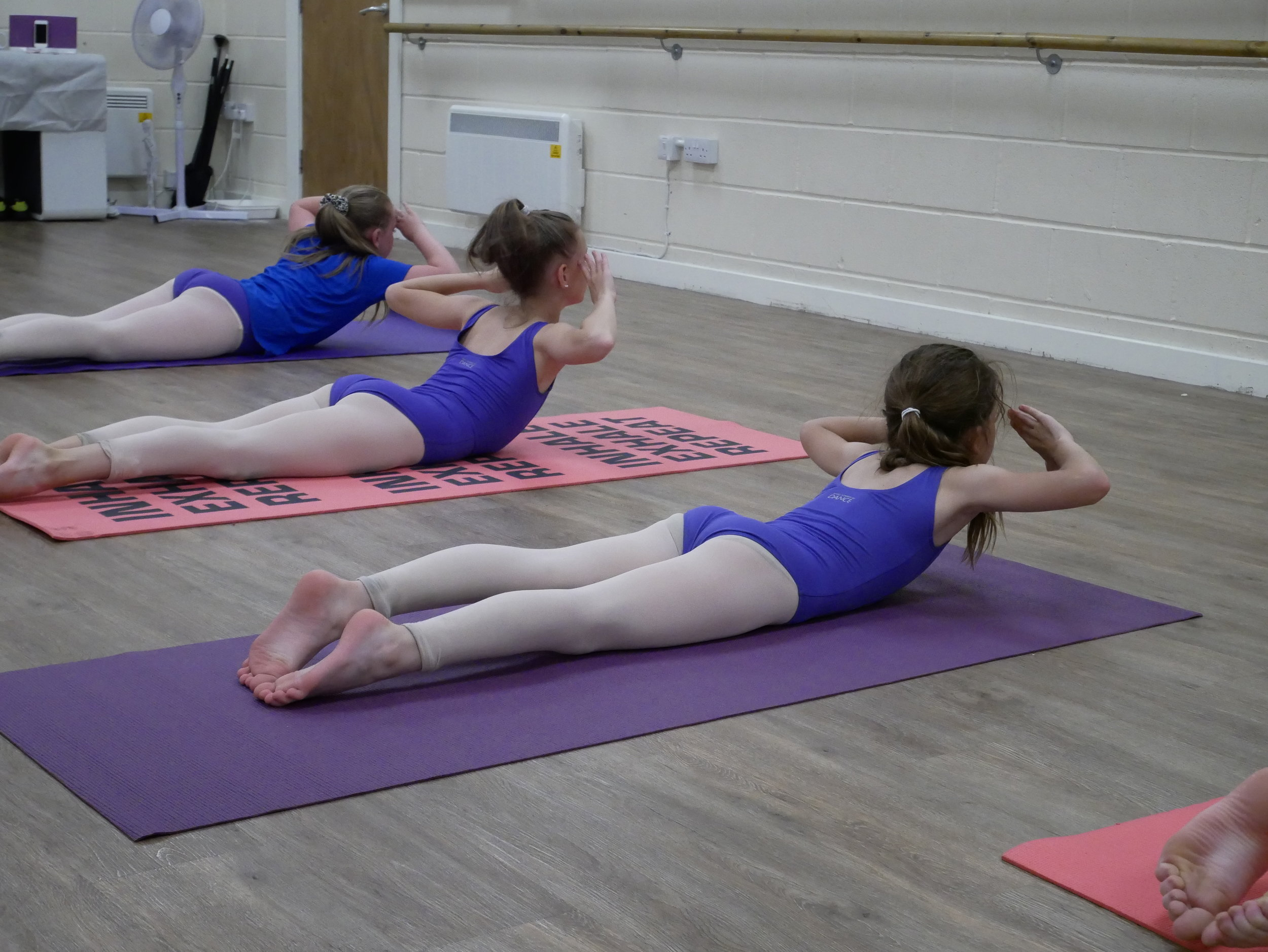 building strength in the back muscles for kids in York
