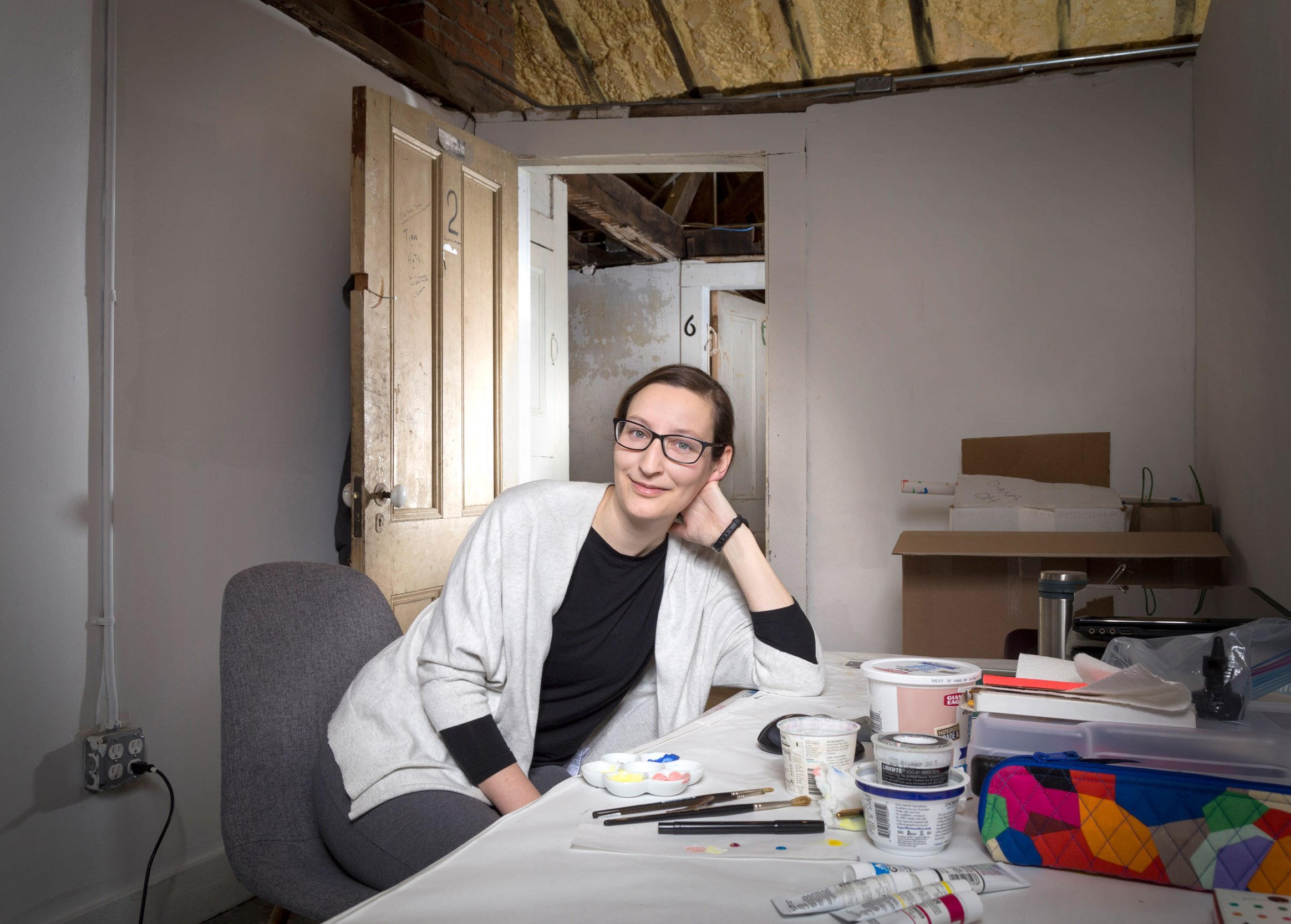 DIANA ABELLS - Artist-in-Residence