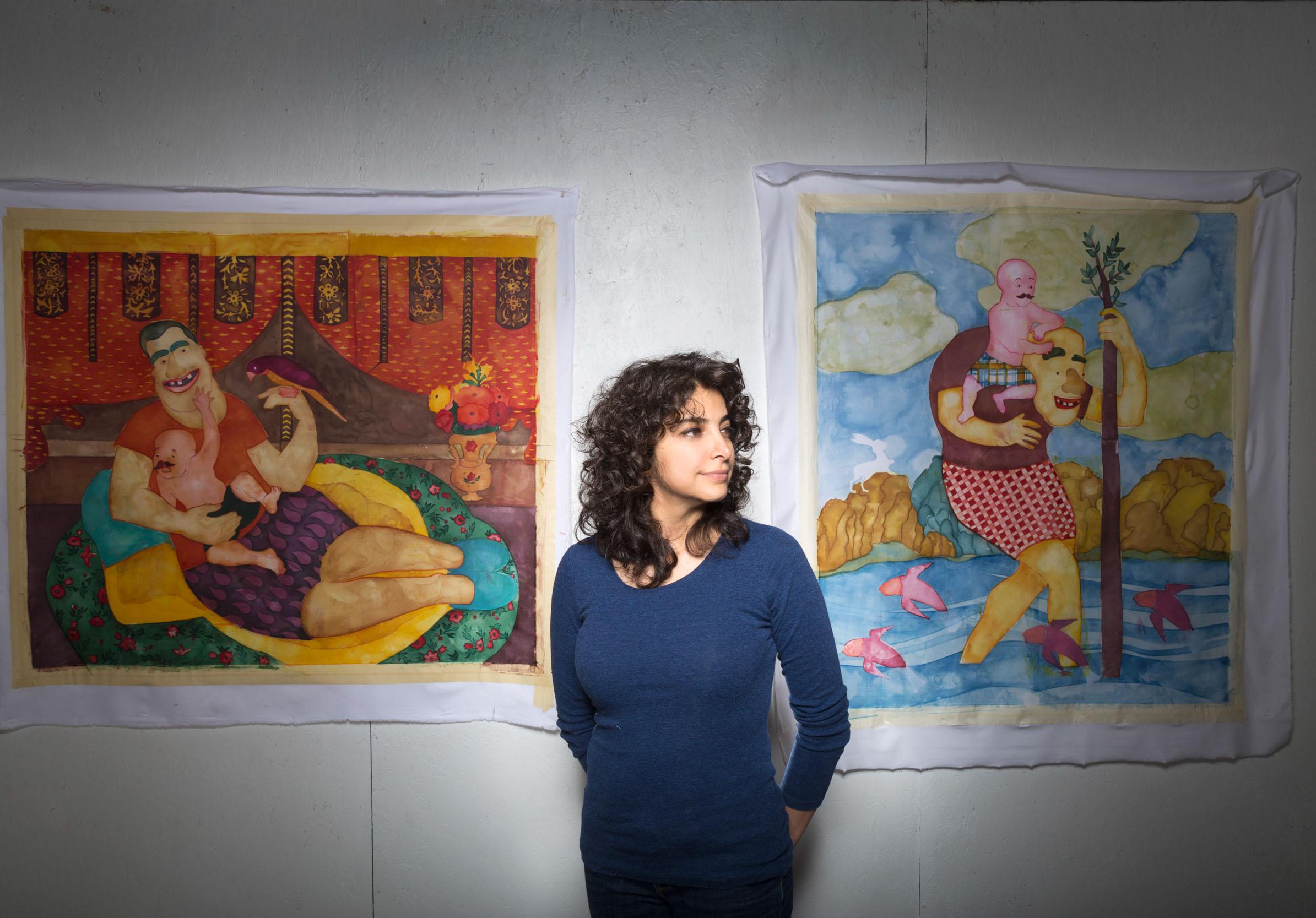 ORKIDEH TORABI - Artist-in-Residence